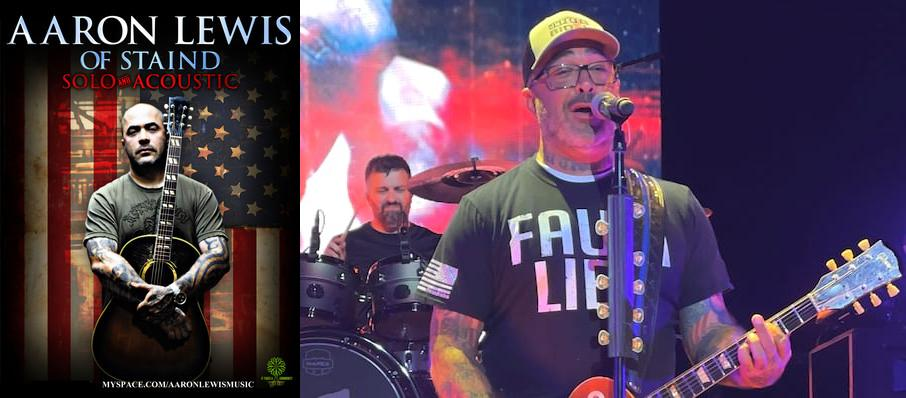 Aaron Lewis at Concert Hall - Neal S. Blaisdell Center