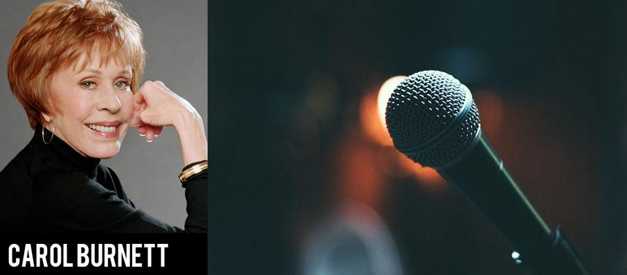 Carol Burnett at Concert Hall - Neal S. Blaisdell Center