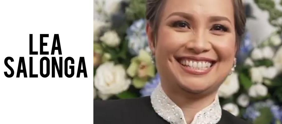 Lea Salonga at Concert Hall - Neal S. Blaisdell Center